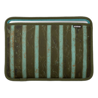 Contemporary Turquoise Air Grate Sleeve For MacBook Air