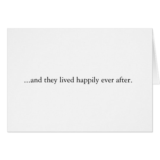 Contemporary Wedding Thank You Greeting Card
