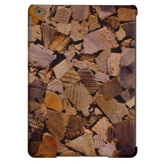 Contemporary Wood chip design Case For iPad Air