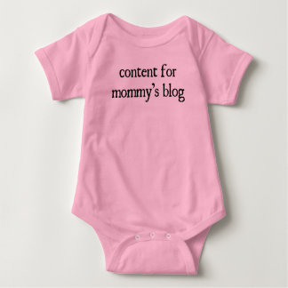 """Content for Mommy's Blog Baby Bodysuit"
