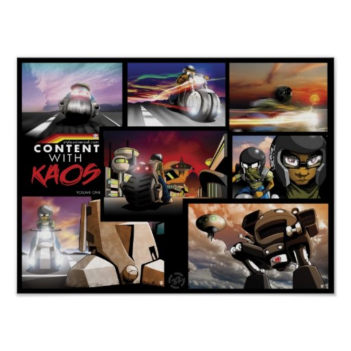 Content with KAOS Volume One Print