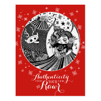 Contented Creature | Red Postcard Authenticity