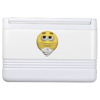 contentment emoticon cooler