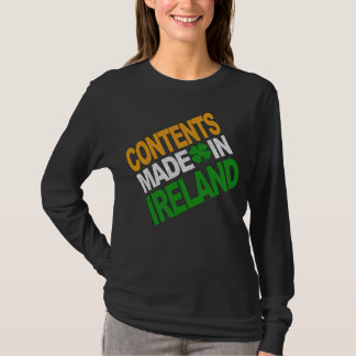 Contents Made in Ireland T-Shirt