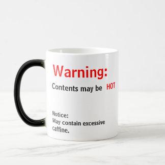Contents may be HOT Magic Mug
