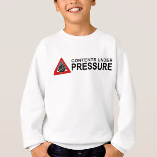 CONTENTS UNDER PRESSURE AL SWEATSHIRT