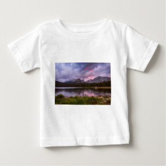 Continental Divide Stormy Rainy Sunset Sky Baby T-Shirt