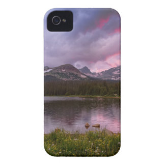 Continental Divide Stormy Rainy Sunset Sky Case-Mate iPhone 4 Case