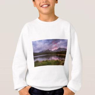 Continental Divide Stormy Rainy Sunset Sky Sweatshirt