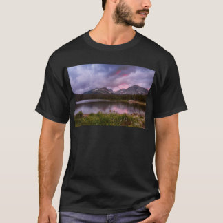 Continental Divide Stormy Rainy Sunset Sky T-Shirt