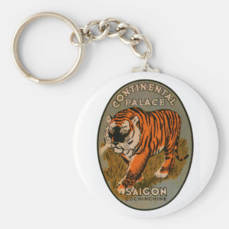Continental Palace Hotel Basic Round Button Key Ring