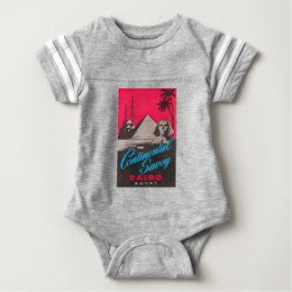 Continental Savoy Cairo Egypt Baby Bodysuit