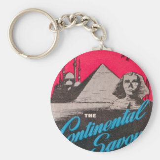 Continental Savoy Cairo Egypt Key Ring