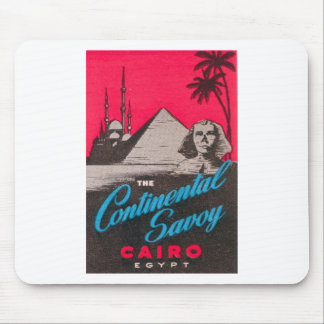 Continental Savoy Cairo Egypt Mouse Pad