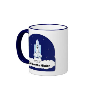 Continue the Mission Mug (Right Hand)