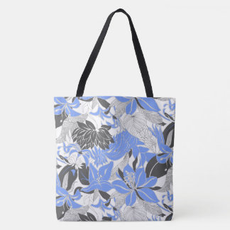 Contour Hawaii Tropical Lily and Protea Beach Bag
