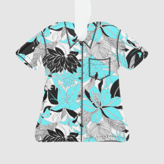 Contour Hawaii Tropical Lily Protea Aloha Shirt Ornament