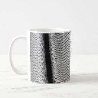 Contour Lines Basic White Mug