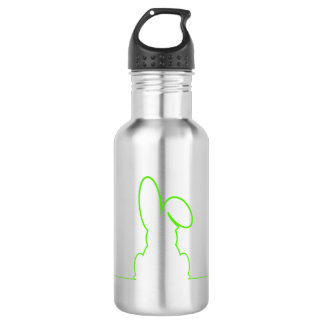 Contour of a hare light gre 532 ml water bottle