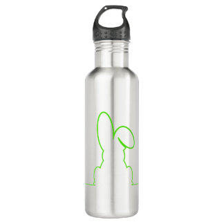 Contour of a hare light gre 710 ml water bottle