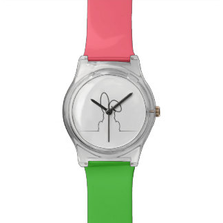 Contour of a hare watch