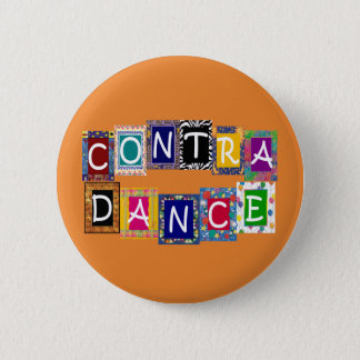 Contra Dance II Button