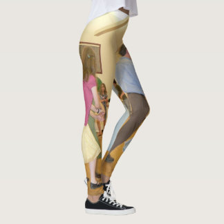 Contra Dance leggings! Leggings