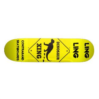 Contraband Skateboards-Nick Scott A.K.A Ling Ling