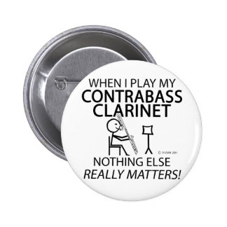 Contrabass Clarinet Nothing Else Matters Pin