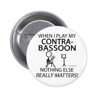 Contrabassoon Nothing Else Matters Pins
