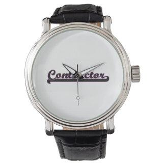 Contractor Classic Job Design Wristwatches