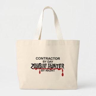 Contractor Zombie Hunter Tote Bag