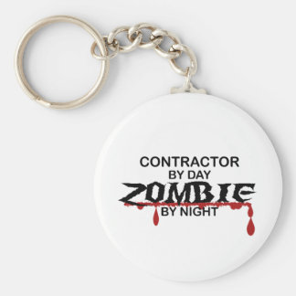 Contractor Zombie Key Chains