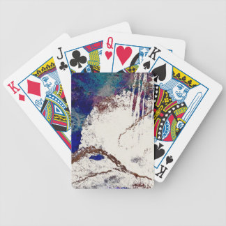 Contradictions Abstract Bicycle Playing Cards