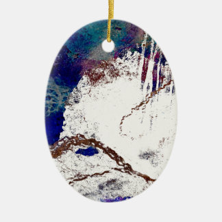Contradictions Abstract Ceramic Ornament