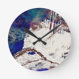 Contradictions Abstract Round Clock