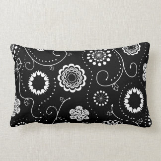 Contrast Flowers Cushions