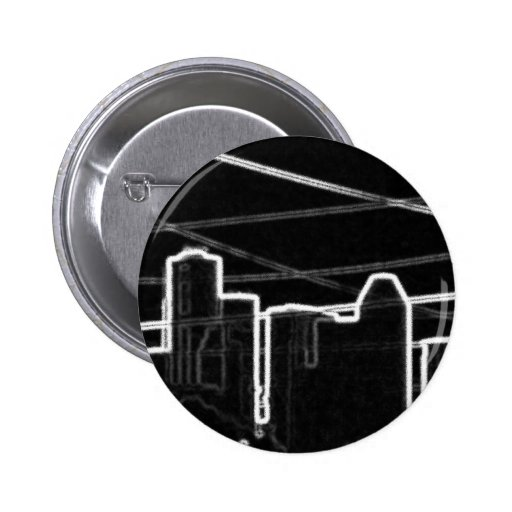 Contrast Houston Pinback Buttons