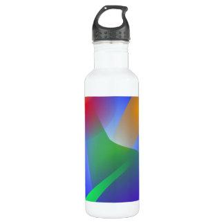 Contrast on Blue 710 Ml Water Bottle