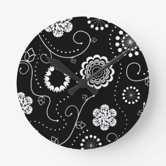 Contrast Time Wall Clocks