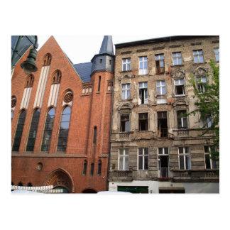contrast urban berlin postcard