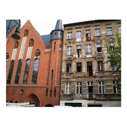 contrast urban berlin postcards
