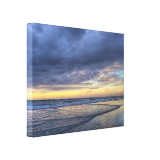 Contrasted Morning Canvas Print