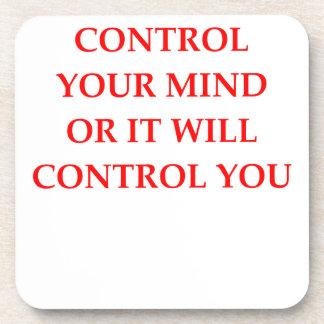 CONTROL BEVERAGE COASTER