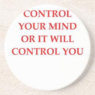 CONTROL BEVERAGE COASTERS