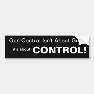 Control Bumper Sticker
