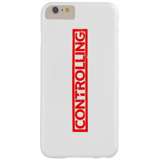 Controlling Stamp Barely There iPhone 6 Plus Case