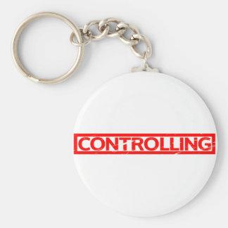 Controlling Stamp Key Ring