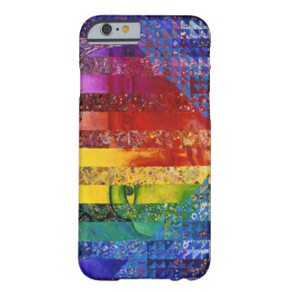 Conundrum I – Abstract Rainbow Woman Goddess Barely There iPhone 6 Case
