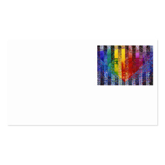 Conundrum I – Abstract Rainbow Woman Goddess Pack Of Standard Business Cards